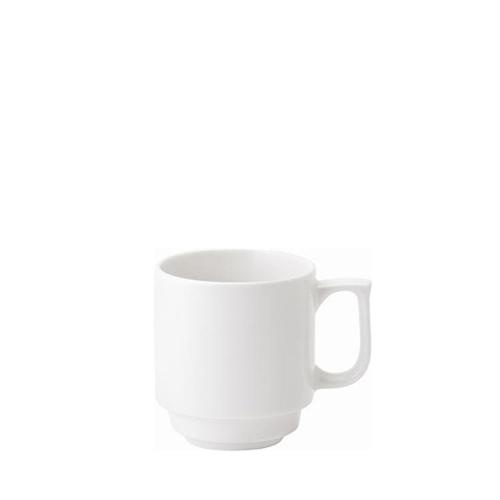 Utopia Pure White Stacking Mug 10oz