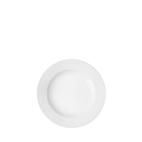Utopia Pure White Wide Rim Plate 6.75