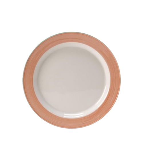 Steelite Rio Slimline Plate 25.5cm Pink