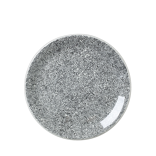 Ink Crackle Coupe Plate