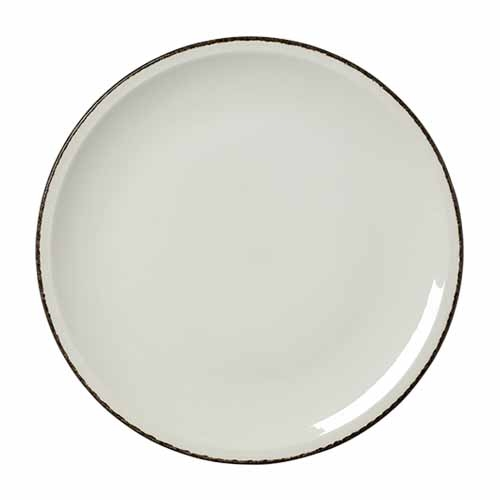 Steelite Dapple Charcoal Pizza Plate 12.5