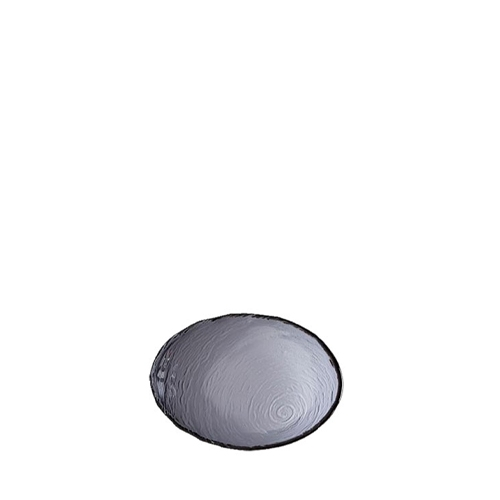 Steelite Scape Oval Glass Bowl 12.5cm Smoked