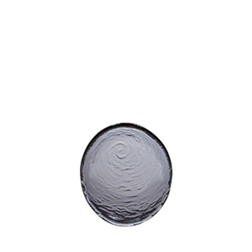 Steelite Scape Round Glass Platter 14cm Smoked