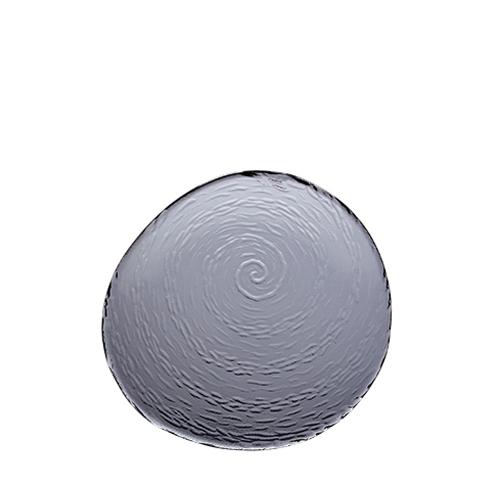 Steelite Scape Round Glass Platter 25cm Smoked