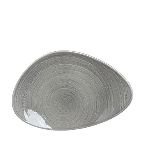Steelite Scape Plate 37.5cm Grey