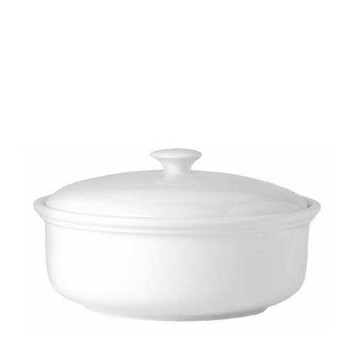 Steelite Simplicity Lid for Casserole Dish 2Ltr White