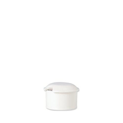 Steelite Simplicity Mustard Pot Lid White