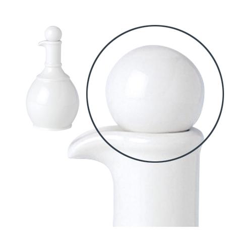 Steelite Simplicity Oil / Vinegar Jar Stopper White