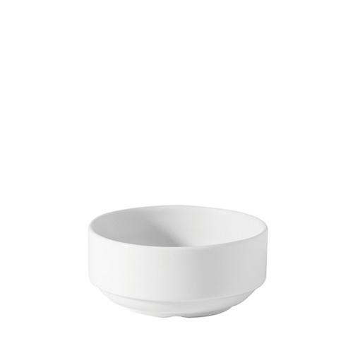 Utopia Porcelain Unhandled Soup Bowl 10oz White