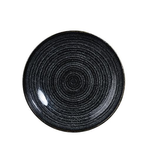 Churchill Studio Prints Homespun Coupe Bowl 24.8cm Black