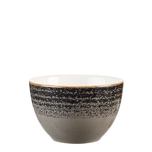 Churchill Studio Prints Homespun Sugar Bowl 22.72cl Black