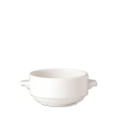 Steelite Monte Carlo  Soup Cup Lugged 28.5cl White