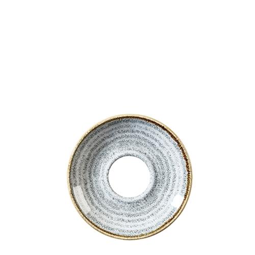 Churchill Studio Prints Homespun Espresso Saucer 11.8cm  Grey