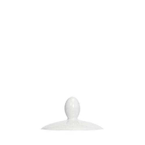 Steelite Steeliet Simplicity Lid for Tea Pot (KSPTP021) White