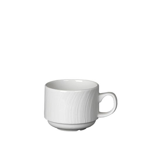 Steelite Spyro Stacking Cup 7.5oz White