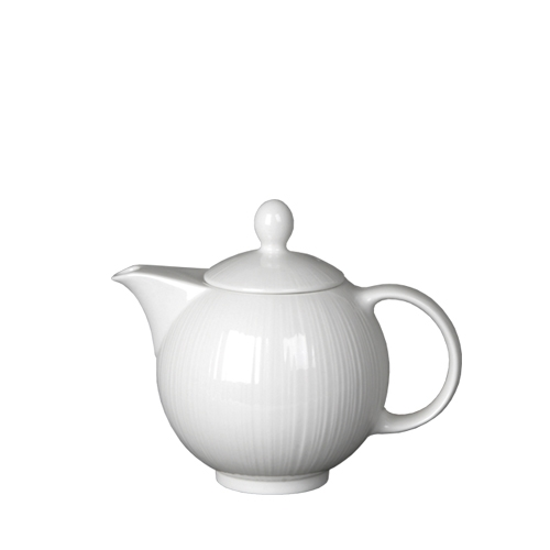 Steelite Spyro Teapot 12oz White