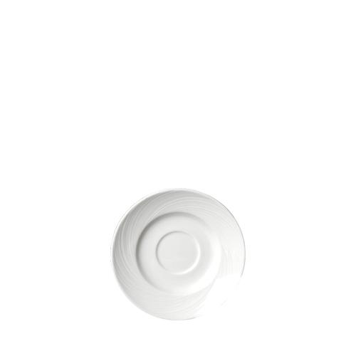 "Steelite Spyro Saucer 4.58"" White"