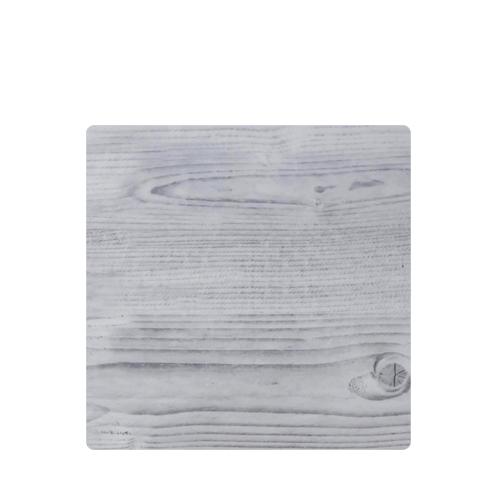 White Wash Melamine Square Platter 25.4 x 1.5cm