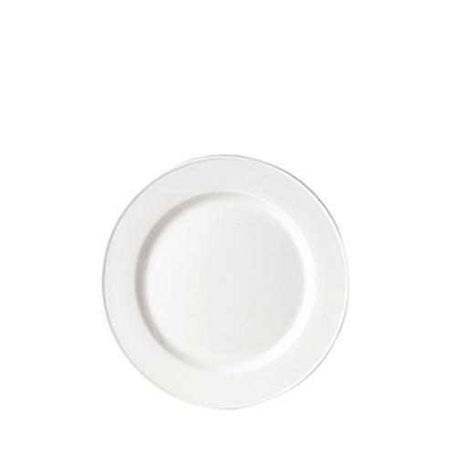 "Steelite Simplicity Slimline Plate 8"" White"