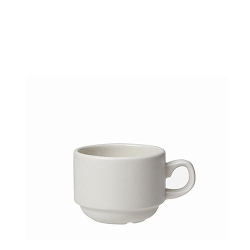 Steelite Simplicity Slimline Stacking Cup 6oz White