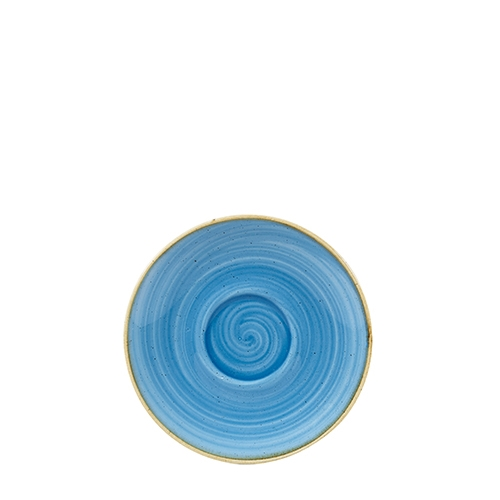 Churchill Stonecast Cappucino Saucer 15.6cm Cornflower Blue