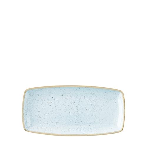 Churchill Stonecast Oblong Plate 29.5cm Duck Egg Blue