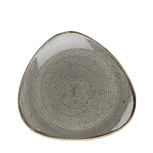 Churchill Stonecast Triangle Plate 10