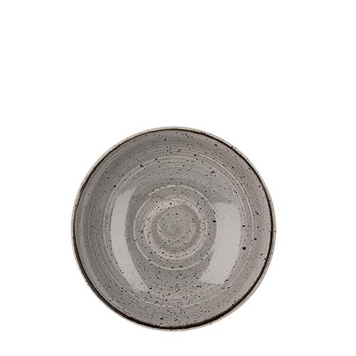 Churchill Stonecast Coupe Bowl 18.2cm Peppercorn Grey
