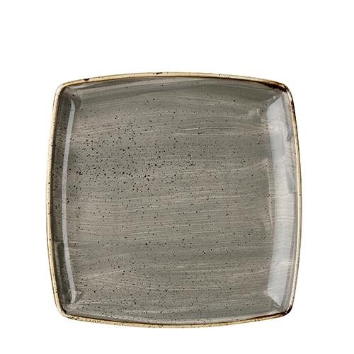 Churchill Stonecast Deep Square Plate 10.5