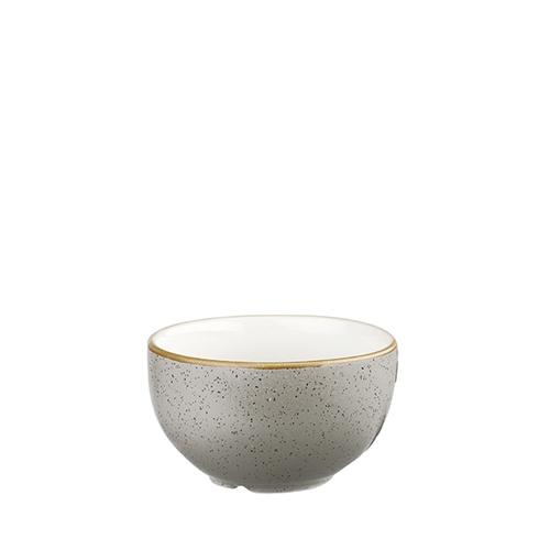 Churchill Stonecast Sugar Bowl 8oz Peppercorn Grey