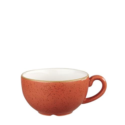 Churchill Stonecast Cappuccino Cup 22.7cl Spiced Orange
