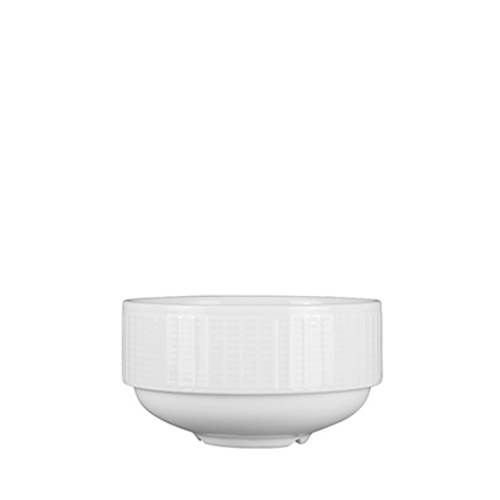Steelite Willow Soup Cup Unhandled Stacking 10oz White