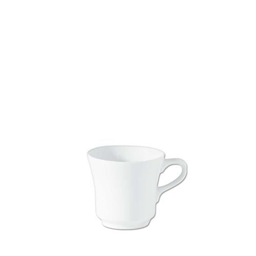 Utopia Porcelain Tall Tea Cup 7oz White
