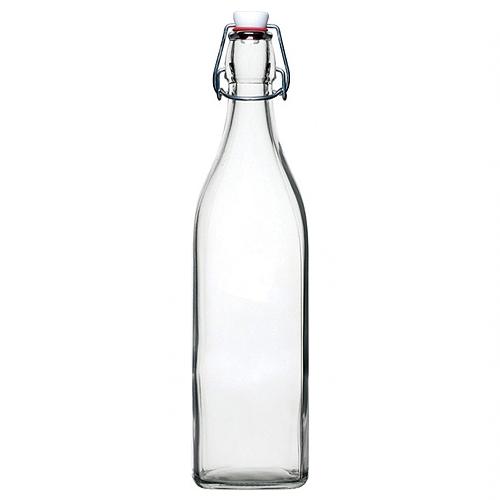 Utopia Flip Lid Swing Bottle 1Ltr Clear