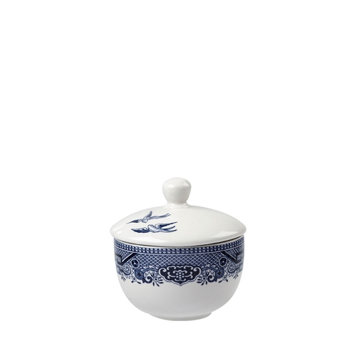 Churchill Vintage Prints Sandringham Sugar Bowl Lid White