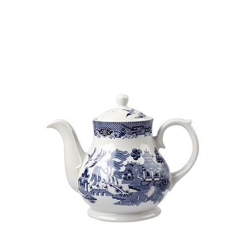 Churchill Vintage Print  Sandringham Tea/Coffee Pot 15oz  Blue