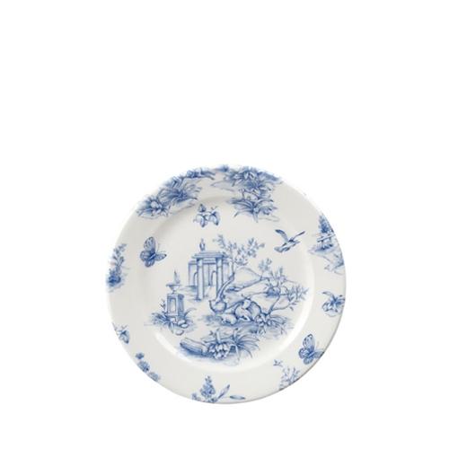 "Churchill Vintage Print  Prague Toile Tea Plate 6.5""  Blue"