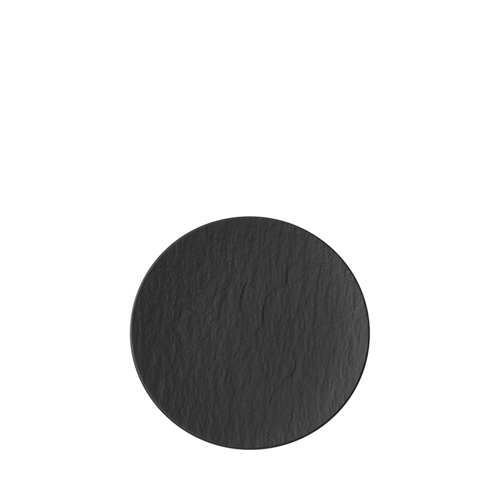 Villeroy & Boch Rock Black Shale Coupe Plate 16cm
