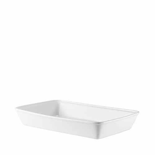 Churchill Cookware Rectangular Baking Dish 38x25.4x6.2cm White