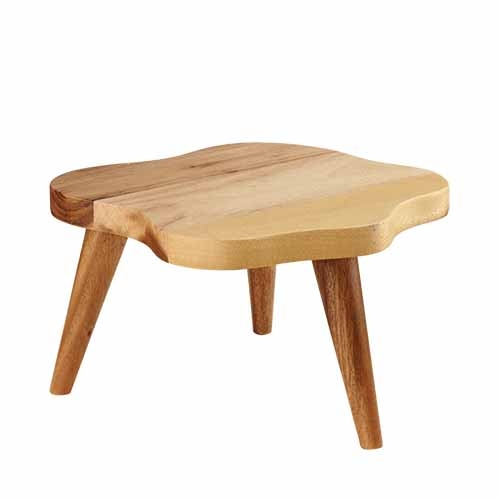Churchill Organic  Wood Stand Large Brown