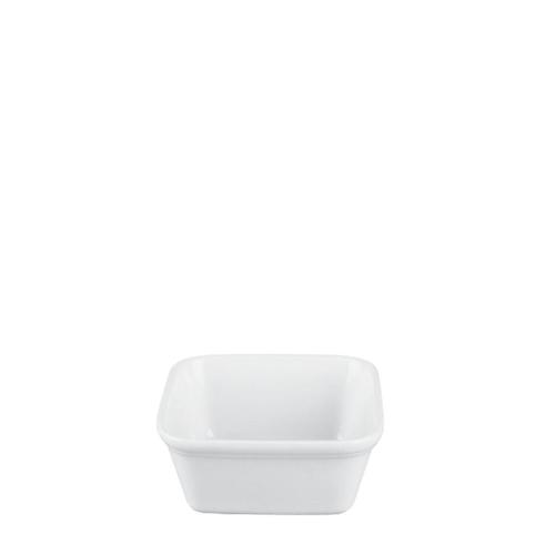Churchill Cookware Square Pie Dish 15.8oz (45cl) White
