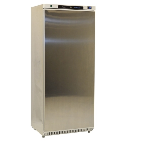 Blizzard Blue Line 600 Upright Freezer L600SS Stainless Steel