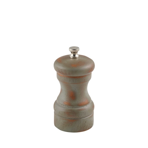 Antique Finish Salt/Pepper Grinder 10cm Brown