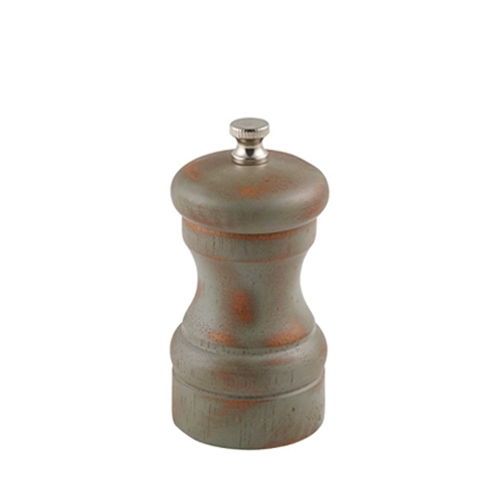 Antique Finish Salt/Pepper Grinder 13cm Brown