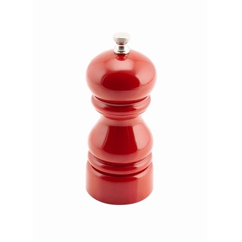 Acrylic Salt/Pepper Grinder 12.7cm Red