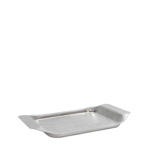 Better Burger Serving Tray 25.5cm x 17.5cm x 1cm Stainless Steel