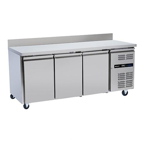 Blizzard 3 Door Counter Freezer LBC3 417Ltr Stainless Steel