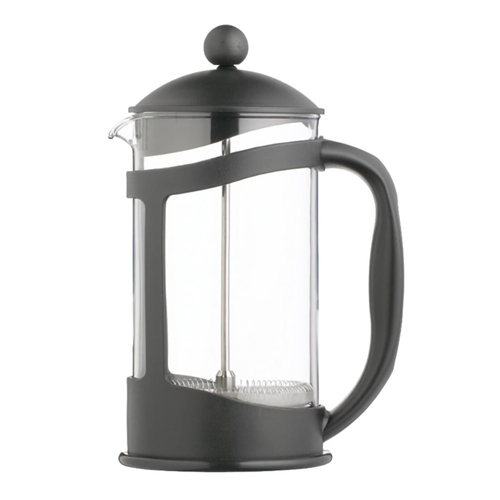 Kitchen Craft Le'Xpress Glass Cafetiere with Plastic Holder 8 Cup Black