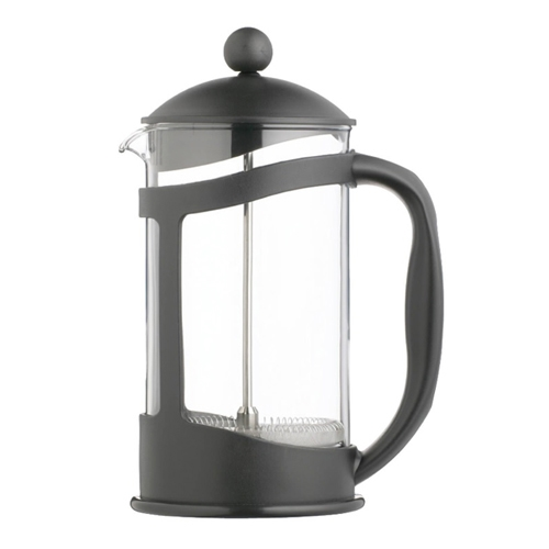 Kitchen Craft Le'Xpress Glass Cafetiere with Plastic Holder 3 Cup Black