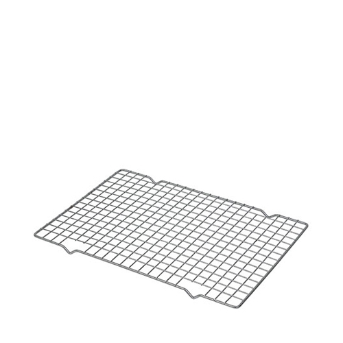 Genware Chrome Plated Cake Cooling Tray 470x260mm Silver